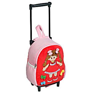 Рюкзак детский на колесах для малышей Heunec Кукла Люси