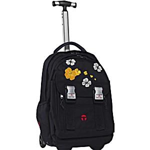 Школьный рюкзак на колесах Take It Easy Madrid Клевер + дождевик