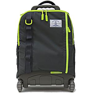 Школьный рюкзак на колесах – ранец Wheelpak Cruze Grey – арт. WLP2301 (для 3-5 класса, 21 литр)