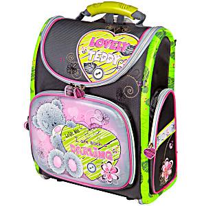 Школьный рюкзак – ранец HummingBird Lovely Teddy K77 с мешком для обуви