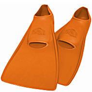 Ласты SwimSafe детские закрытая пятка для бассейна резиновые размер - 26 оранжевые СВИМСЕЙФ Германия