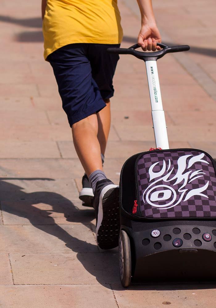 Рюкзак на колесиках Roller Nikidom Camo XL  арт. 9324 (27 литров), - фото 3