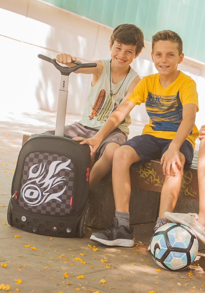 Рюкзак на колесиках Roller Nikidom Camo XL  арт. 9324 (27 литров), - фото 4