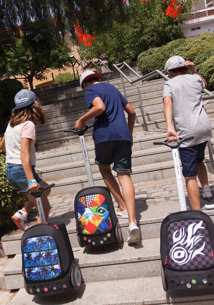 Рюкзак на колесиках Roller Nikidom Camo XL  арт. 9324 (27 литров), - фото 5